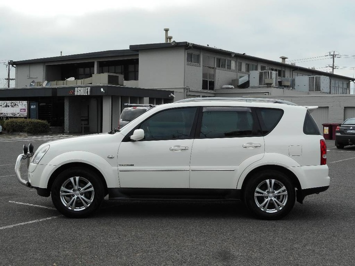 SSANGYONG  RX270 XVT Y285 II RX270 XVT SPR Wagon 7st 5dr Spts Auto 5sp 4x4 2.7DT [MY10]