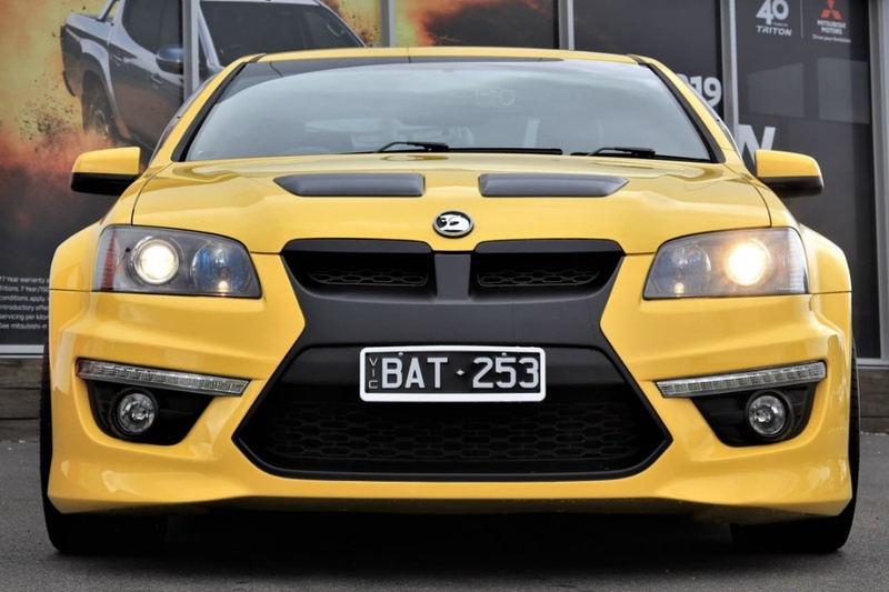 HOLDEN SPECIAL VEHICLES CLUBSPORT  E Series 3 Sedan 4dr Man 6sp 6.2i [MY12.5]