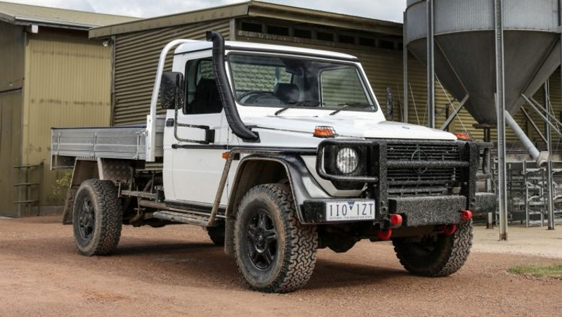 Mercedes-Benz G-Class ute price revealed - Mercedes debuts