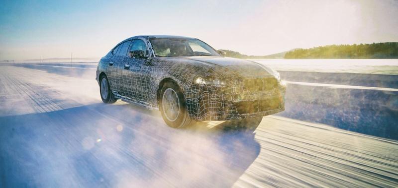 BMW i4 prototype exposed