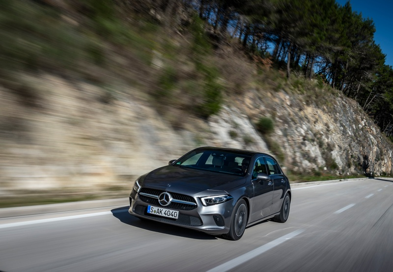 2018 Mercedes-Benz A-Class review - Driven: Mercedes' smartphone on