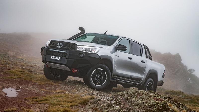 2018 Toyota HiLux Rugged X road test review   Drive com au