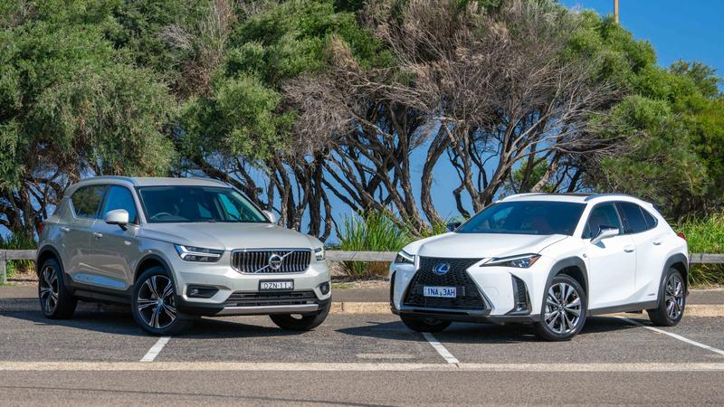 Head to Head: Volvo XC40 v Lexus UX | Drive comparison review