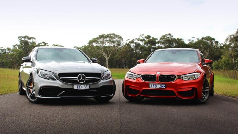 Head to head: Mercedes-AMG C63 S vs BMW M3 - Head to head
