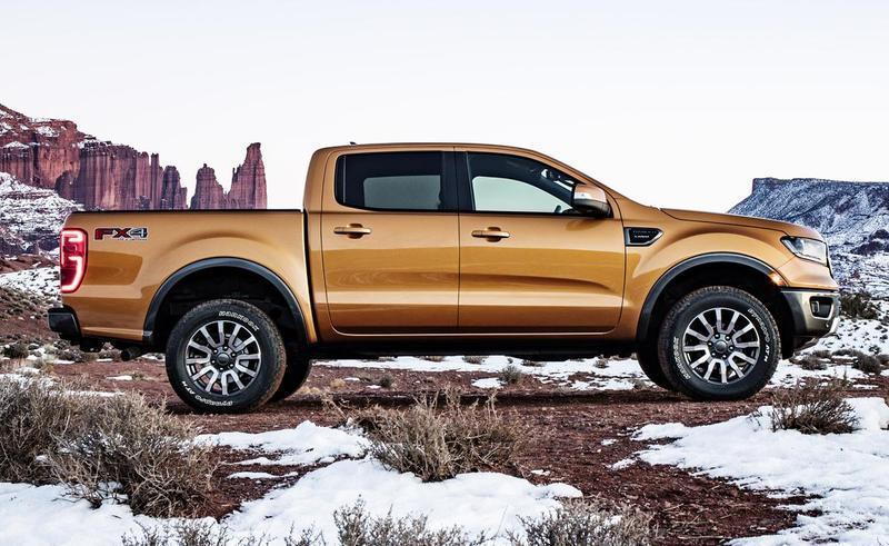 Updated Ford Ranger Revealed - Updated Ford Ranger Revealed