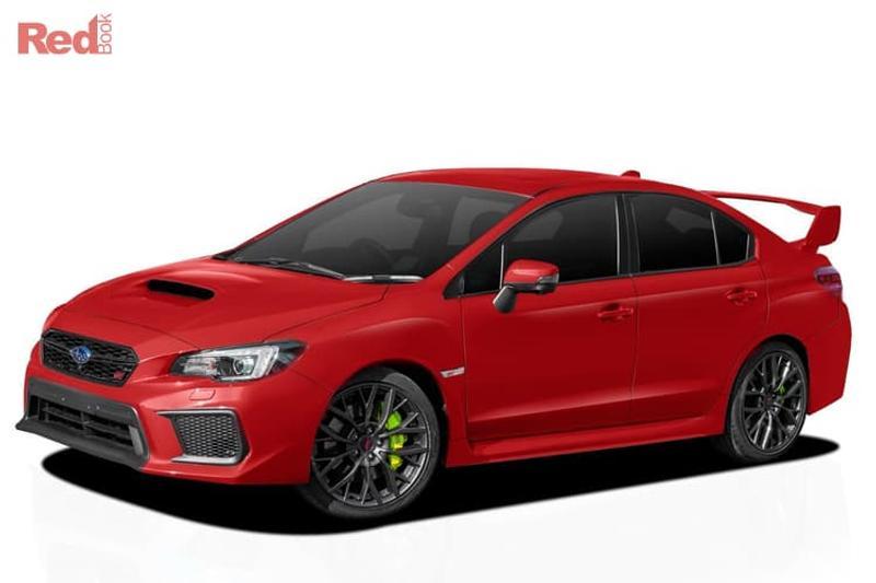 2018 Subaru WRX car valuation