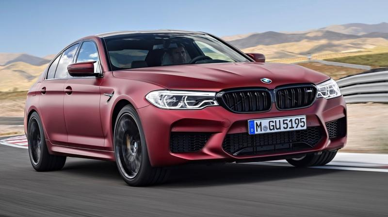 BMW M5 sold out, Competition coming - BMW M5 Competition for Oz leaks