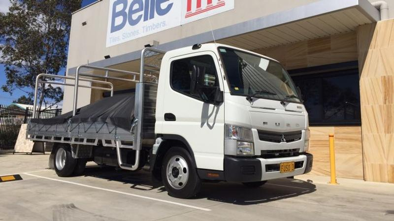 Fuso Canter 515 Wide Cab Short Haul review - Short Haul: Fuso Canter