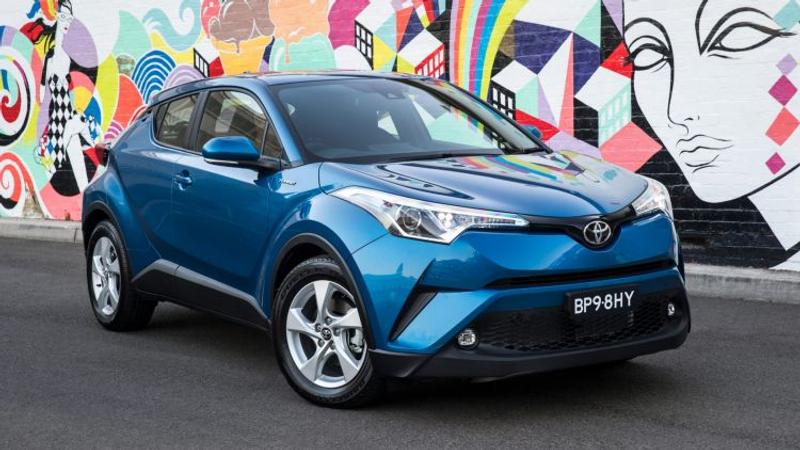 2017 Toyota C-HR new car review - Road test: Toyota C-HR