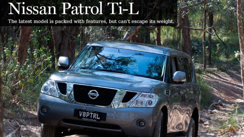 New car review: Nissan Patrol Ti-L