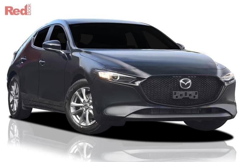 2019 Mazda 3 new car showroom