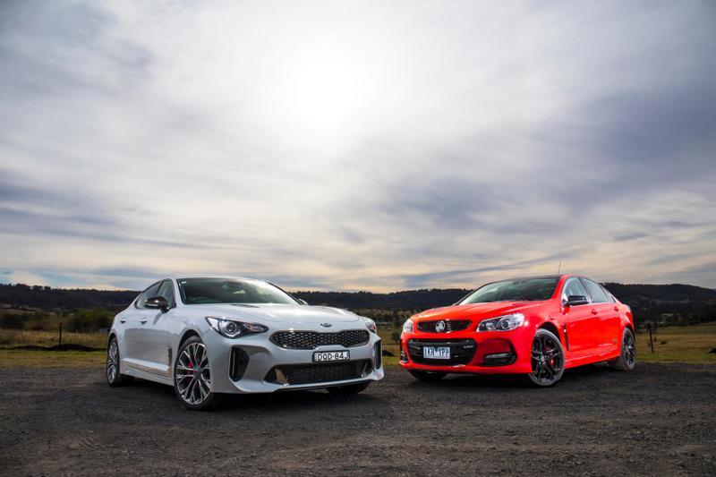 Head to head: 2017 Kia Stinger vs Holden Commodore SS-V