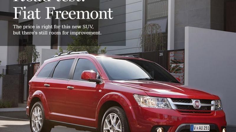 2013 Fiat Freemont