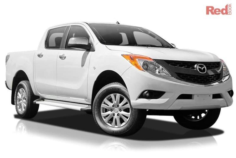 2014 Mazda BT-50 car valuation