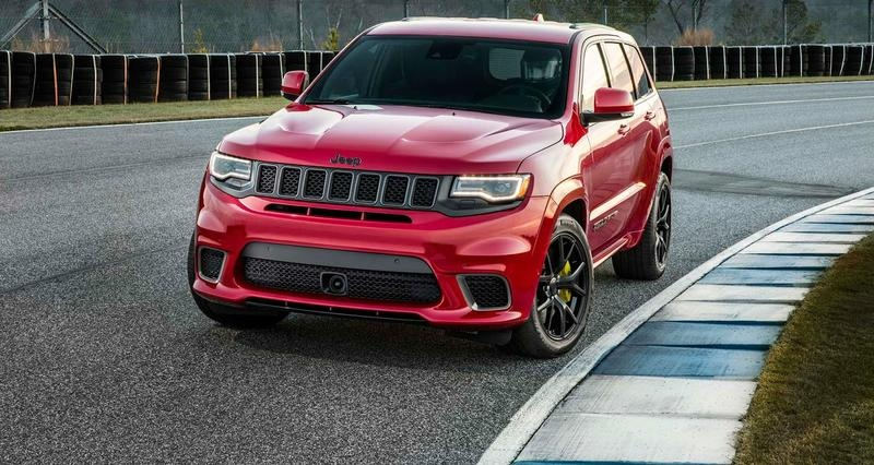 Jeep Grand Cherokee Trackhawk No Demon But A Launch Edition For