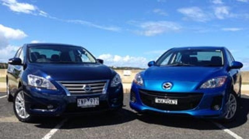 Head To Head  Nissan Pulsar V Mazda3