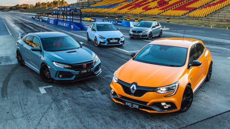 Renault Megane Rs V Honda Civic Type R V Hyundai I30n V