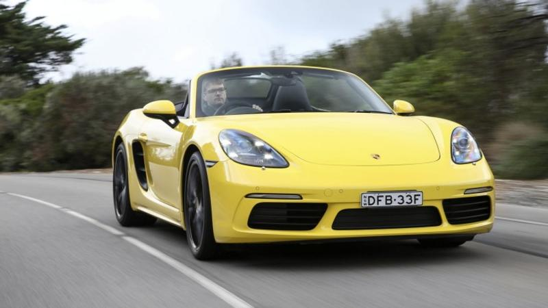2016 Porsche 718