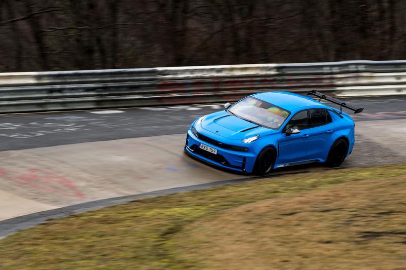 Lynk & Co 03 Cyan Concept sets Nurburgring lap record   Drive