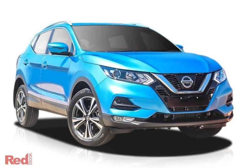 2019 Nissan Qashqai new car showroom