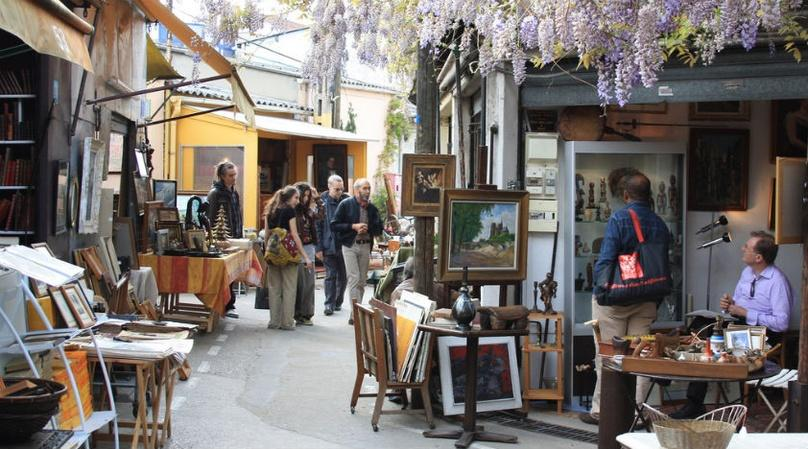 Paris Flea Market Tour