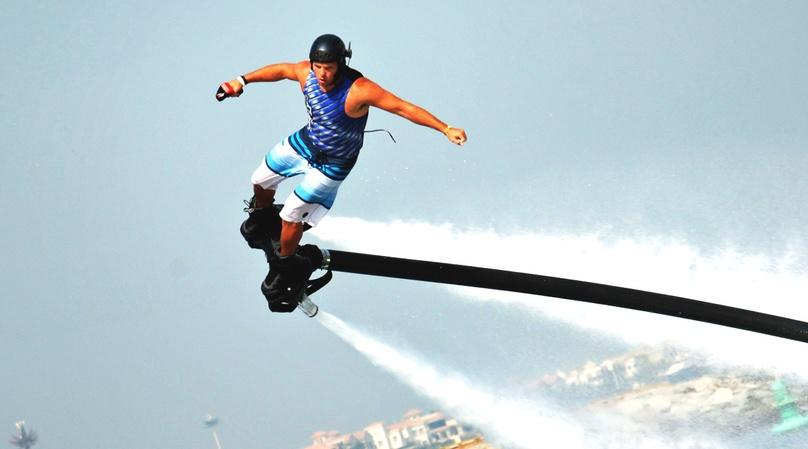 15-Minute Flyboard Lesson in Cancun