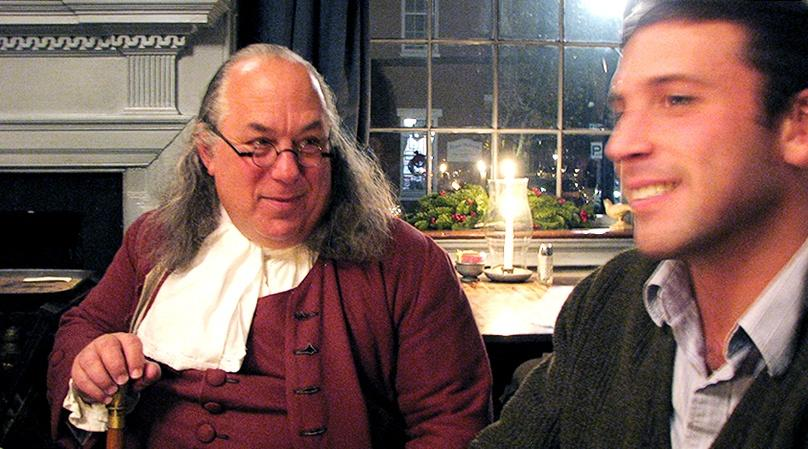 Philadelphia Dinner with Ben Franklin