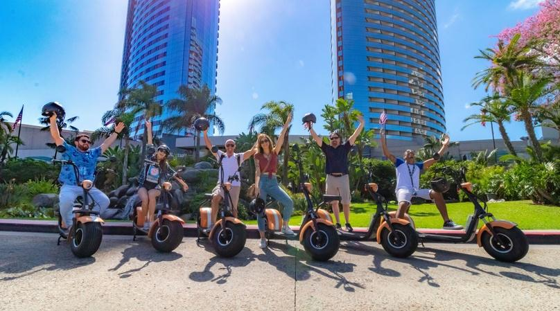 2-Hour Downtown and Balboa Scooter Tour