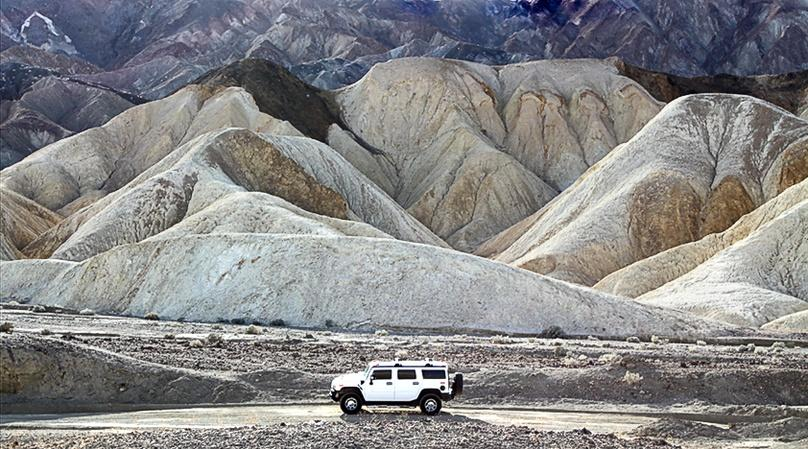 Death Valley National Park Hummer Tour