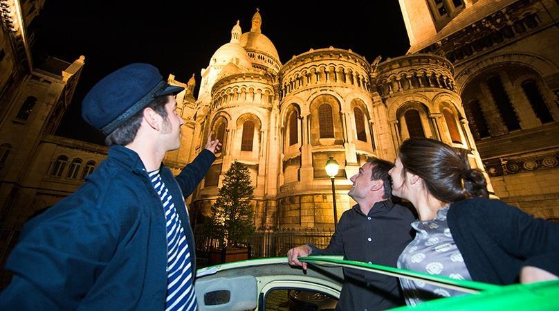 Paris by Night: Illuminated Paris Ride
