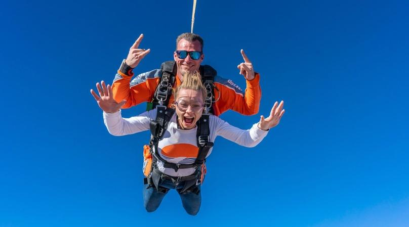 Tandem Skydiving in Las Vegas