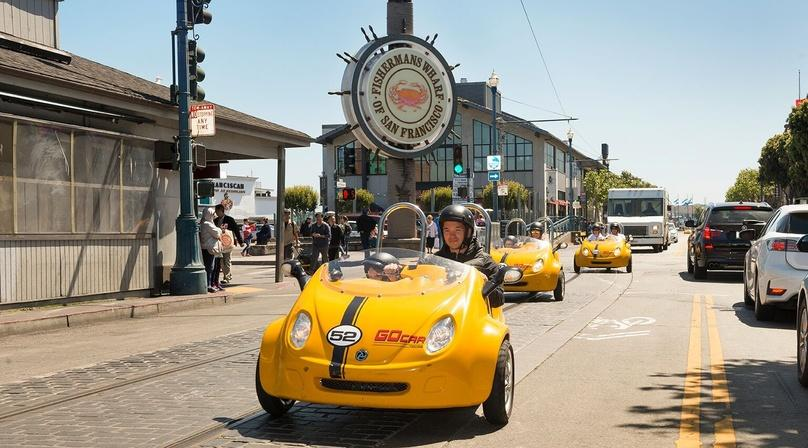 Full-Day San Francisco GoCar Tour