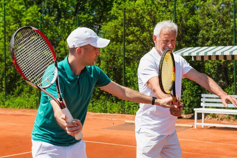 Intermediate 60-Minute Adult Tennis Clinic in New York