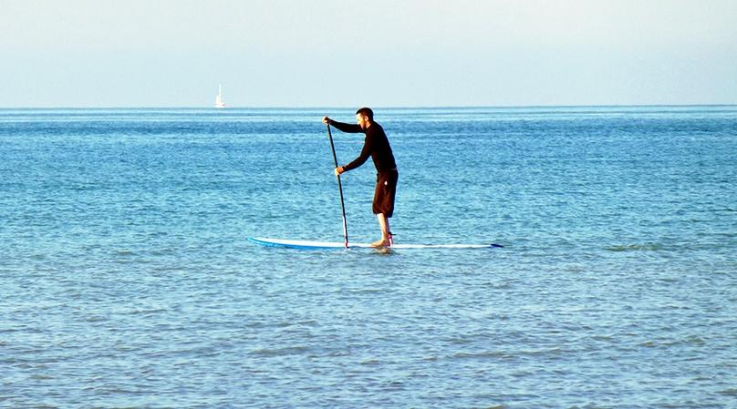 Private Stand-Up Paddleboard Lesson in Redondo Beach