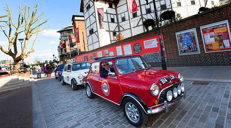 Vintage Mini Cooper London Attractions Tour