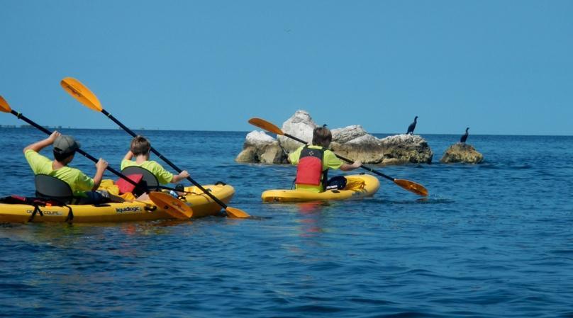 Weeklong Kids Kayaking Day Camp in Tampa