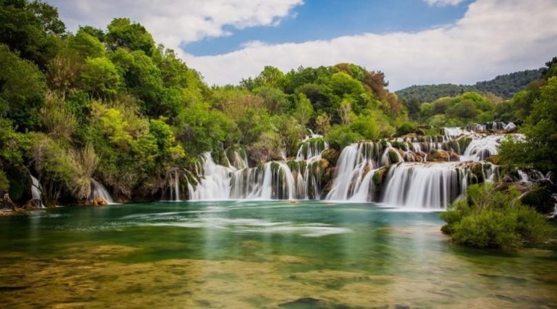 Croatia Krka Waterfalls and Sibenik Tour