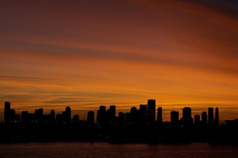 Sunset Plane Tour of Miami