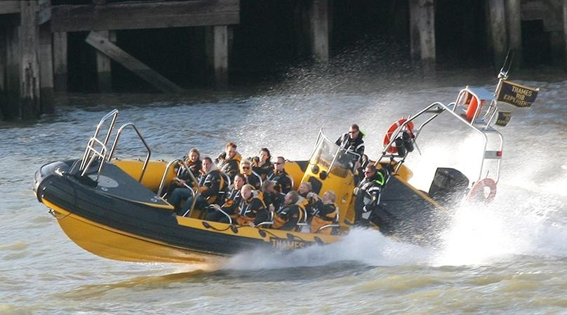 RIB Speedboat to Thames Barrier