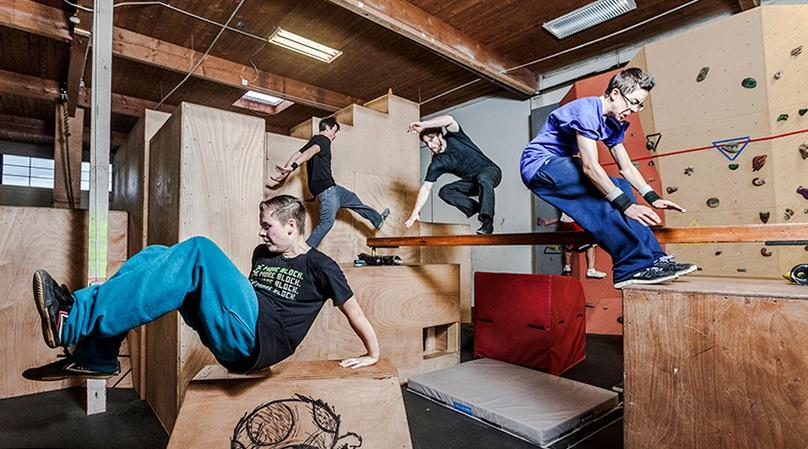 Private Parkour Lesson in Seattle