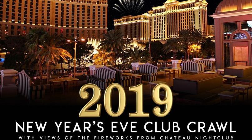 2020 Las Vegas New Years Eve  Crawl -  open bar