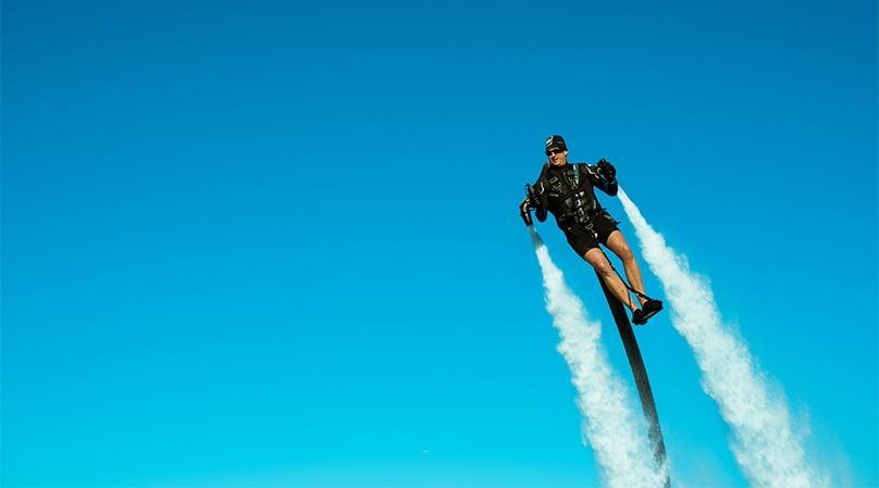Hydro Flight Ride in Sebastian