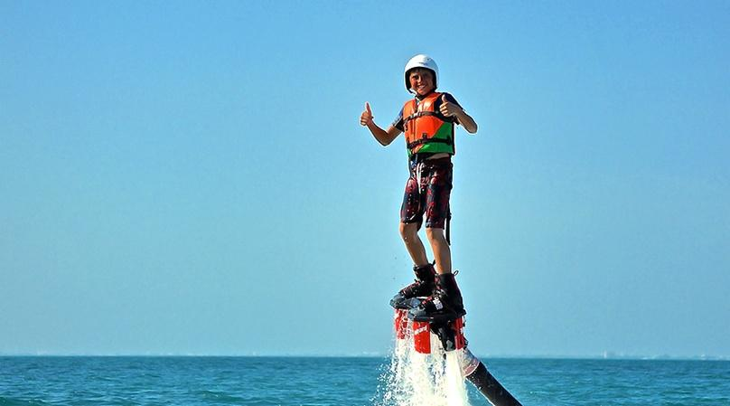 Flyboard Flight and Lesson in Cancun