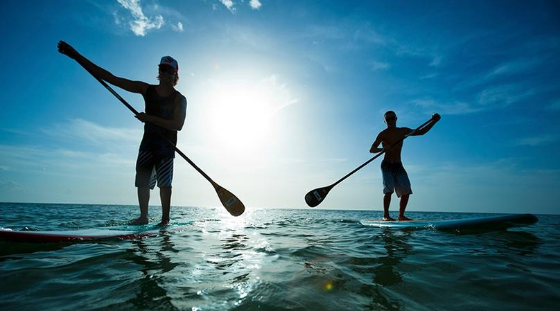 Private Stand Up Paddleboard Lesson in Miami Beach