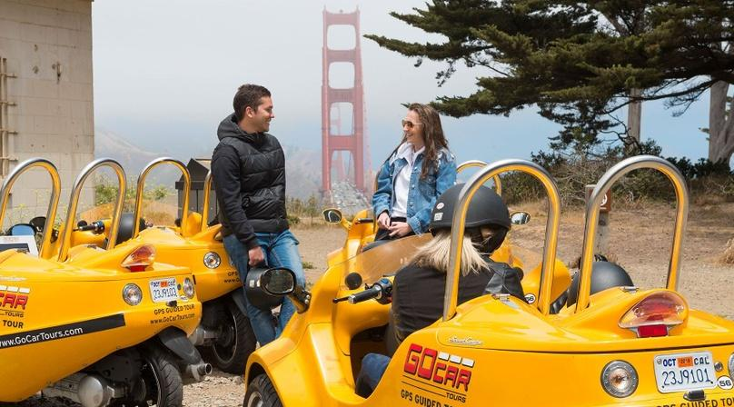 2-Hour Golden Gate Bridge GoCar Tour