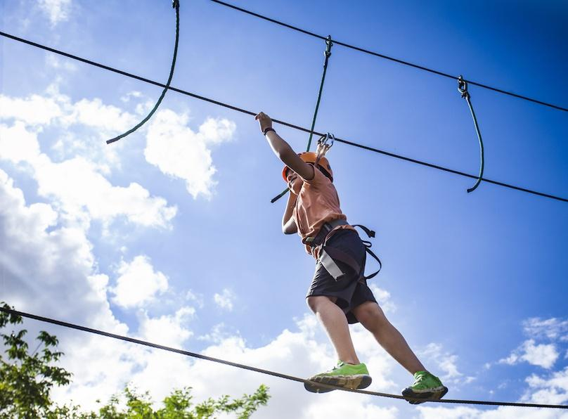 Two-Hour Ropes Challenge Course in Moab