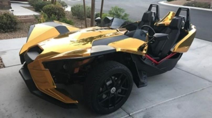Polaris Slingshot Full-Day Rental in Las Vegas