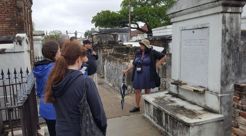 NOLA History at St. Louis Cemetery Tour
