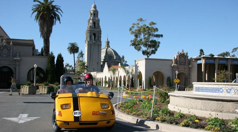 Full-Day GoCar Tour of San Diego