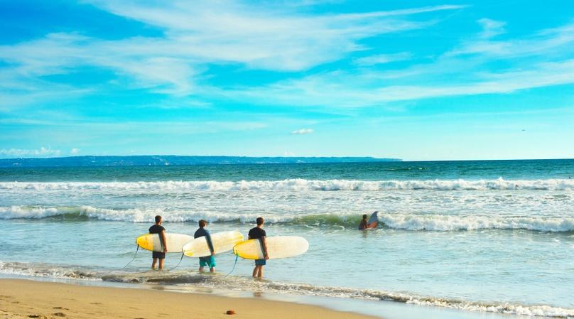Group Surf Lesson in Bolinas